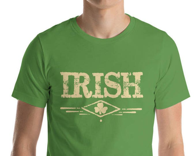 Irish Shamrock T-shirt, St Patrick's Day