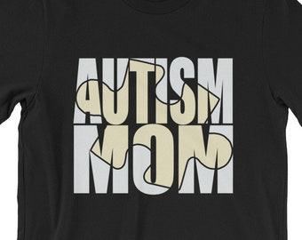 Autism Mom | Proud Autism Mom | autism puzzle piece | Short-Sleeve Unisex T-Shirt | Autism Awareness | Autism Shirt  | BelDisegno