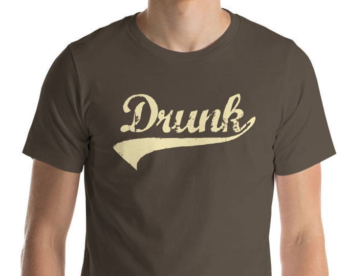 Drunk Shirt - St Patrick's Cinco de mayo Halloween drinking shirt