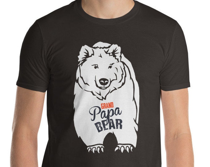 Grand Papa Bear Short-Sleeve T-Shirt