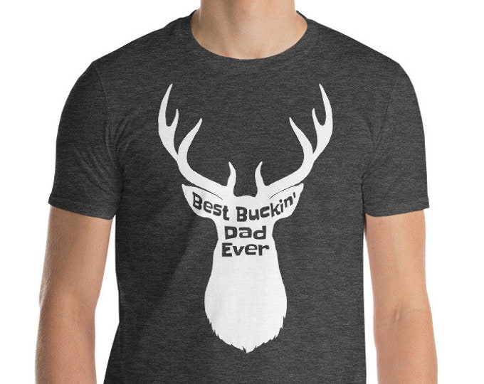 Best Buckin Dad Short-Sleeve T-Shirt