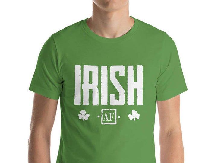 Irish AF St Patrick's Day shirt | BelDisegno
