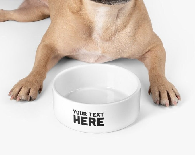 Personalized Pet Bowl Custom Dog Bowl