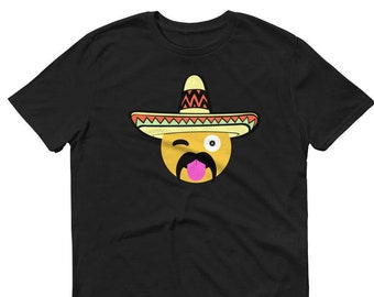 Mexican Emoji Shirt Cinco De Mayo Party Shirt