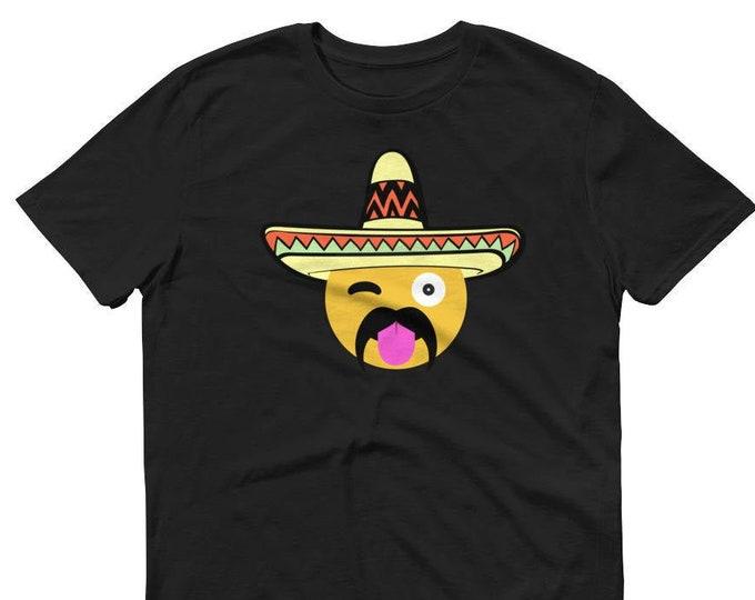 Mexican Emoji Shirt Cinco De Mayo Party Shirt