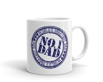 NO.1 Dad , World's Greatest Dad Coffee Mug | BelDisegno