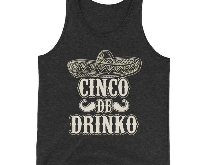 Unisex Cinco de Drinko Tank Top