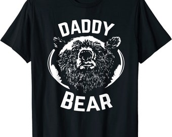 Papa bear shirt father's day new papa t-shirt Daddy tee - Daddy Bear funny dad Shirt gift for Men, papa bear t-shirt, papa bear t-shirt