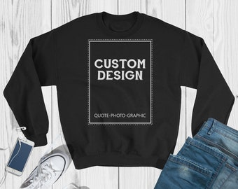 Personalized Sweatshirt - 3XL - 4XL - 5XL  - Hoodie with you photo image picture best gift for dog lovers cat lovers self gift