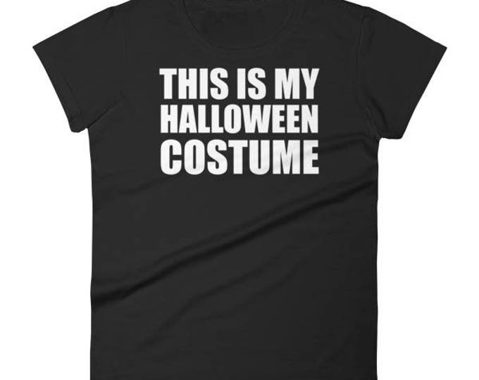 This Is My Halloween Costume Funny Shirt For Halloween Party