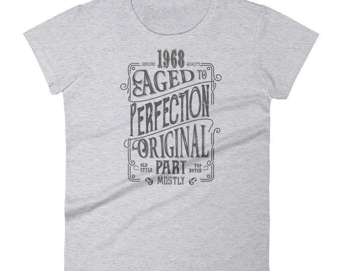 1968 Birthday Gift, Vintage Born in 1968 t-shirt for women, 50th Birthday shirt for her, Made in 1968 T-shirt, 50 Year Old Birthday Shirt