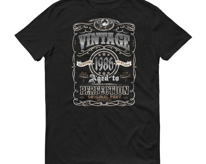 1986 Birthday Gift, Vintage Born in 1986 t-shirt for men, 33rd Birthday shirt for him, Made in 1986 T-shirt, 33 Year Old Birthday Shirt