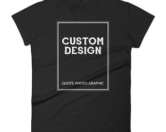 Personalized Women's short sleeve t-shirt | BelDisegno