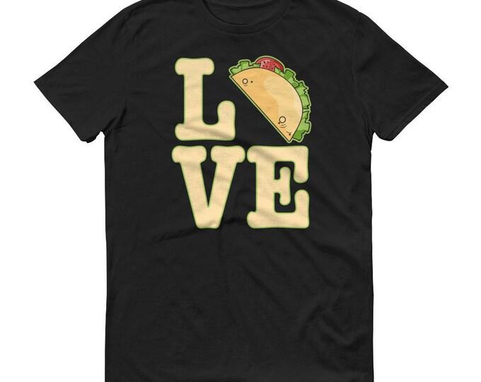Love Tacos t-shirt, I Love tacos, Funny taco shirt, Tacos Shirt, Taco Party, Mexican food, Cinco de Mayo, Fanny Tacos shirt for him