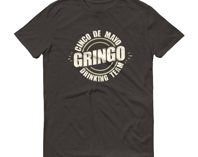 Men's Cinco de mayo Gringo t-shirt - Drinking team shirt | BelDisegno