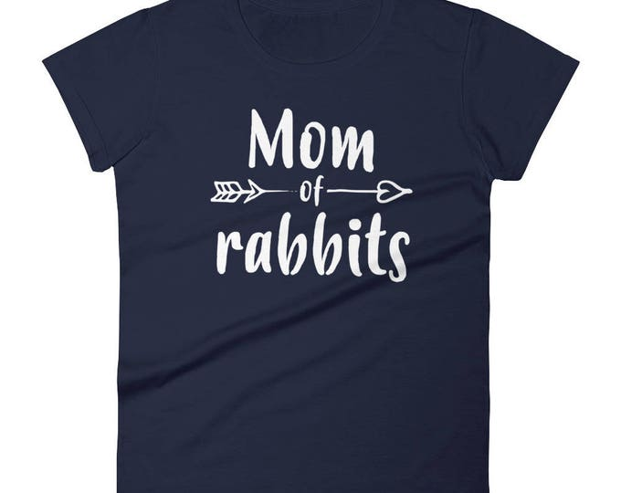 Mom of rabbits t-shirt - rabbit lovers gifts