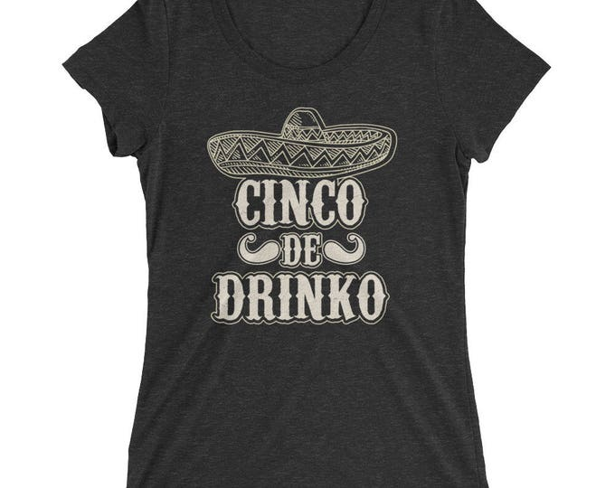 Cinco de Drinko t-shirt - Drinking shirt