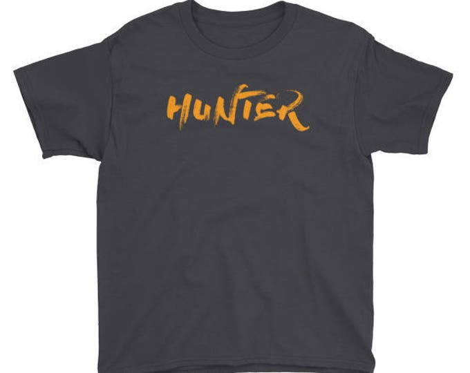 Hunter Halloween Gift Shirt For Kids