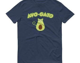 Funny Avocado Shirt - Cinco de Mayo Shirt, Avo Gato, Cat lover shirt, Avocado Lover shirt, Funny Food gift, Men's Avo-gato t-shirt