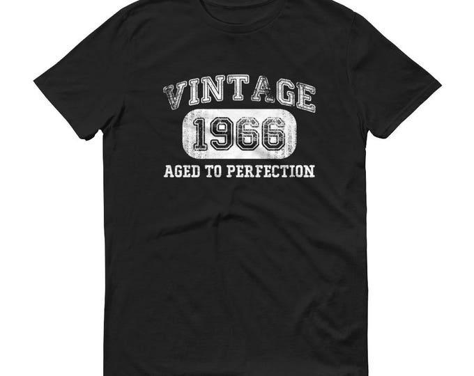 1966 Birthday Gift, Vintage Born in 1966 t-shirt for men, 52nd Birthday shirt for him, Made in 1966 T-shirt, 52 Year Old Birthday Shirt