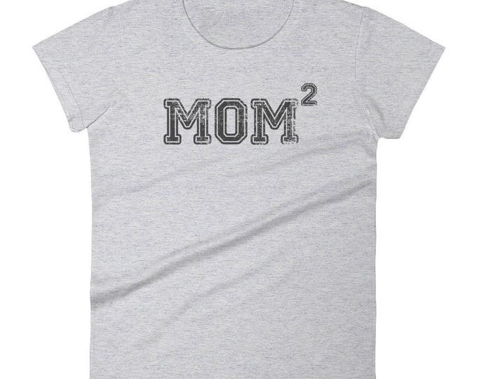 Mom 2 t-shirt - Mother of two kids gift, mother of two, two kids, two boys, two girls, 2 children, mom2, mom of two