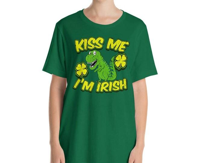 Kiss me I'm Irish St Patrick Day Shamrock Shirt