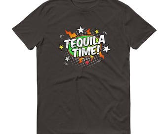 Tequila shirt for men,  Tequila Time t-shirt - Tequila shirt,  tequila es mi amigo, tequila lovers gift, tequila tshirt