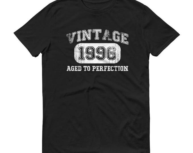 1996 Birthday Gift, Vintage Born in 1996, 23rd Birthday shirt for him, Made in 1996 T-shirt, 23 Year Old Birthday