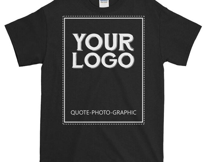 Personalized Short-Sleeve Ultra Cotton T-Shirt - 2XL 3XL 4XL 5XL