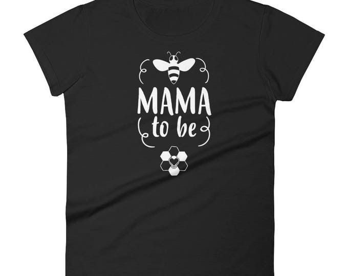 Mama to be t-shirt - gifts for first time moms, baby announcement, baby congratulations, birth announcement, baby reveal