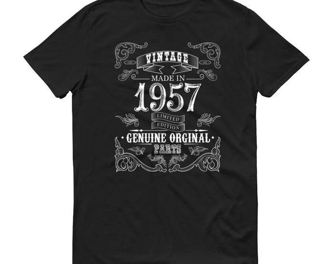1957 Birthday Gift, Vintage Born in 1957 t-shirt for men, 62nd Birthday shirt for him, Made in 1957 T-shirt, 62 Year Old Birthday Shirt