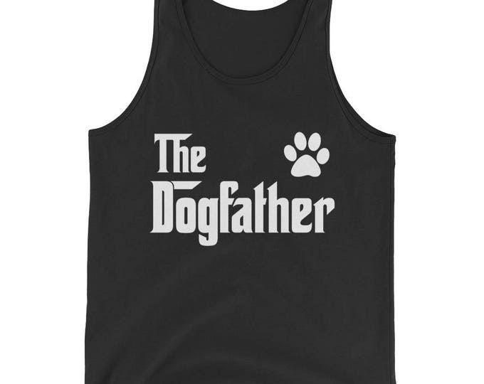 Unisex  The DogFather Tank Top - Dog lovers gift | BelDisegno