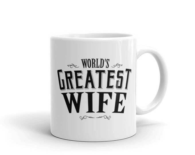 World's Greatest Wife Coffee Mug | BelDisegno