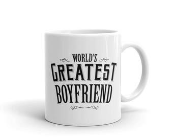 World's Greatest Boyfrined Coffee Mug
