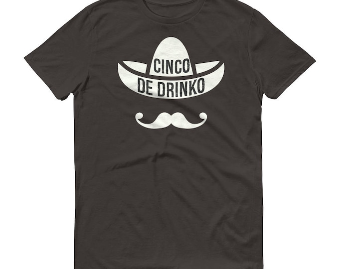 Cinco De Drinko t-shirt - Drinking shirt for cinco de mayo , Tequila Shirt, funny drinking shirt, tequila shirt, tacos and tequila