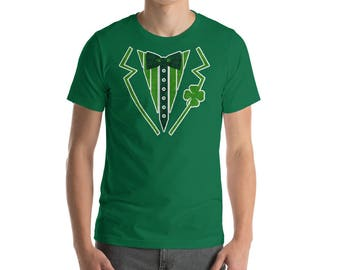 Irish Tuxedo St Patrick's Day t-shirt Drinking team shirt St Patrick Day party Shirt