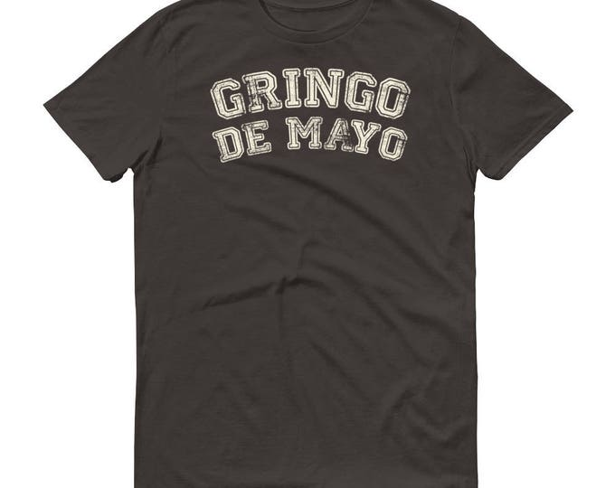 Cinco de mayo shirt, Men's Gringo de mayo t-shirt