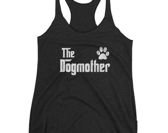 Women's The DogMother tank top - Gift for dog lovers , Dog Mom tank