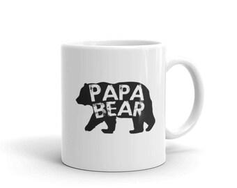 PAPA BEAR Coffee Mug, papa bear mug, papa bear, papa bear gifts, grandpa gift, papa gift, fathers day gift, papa gifts, papa shirt