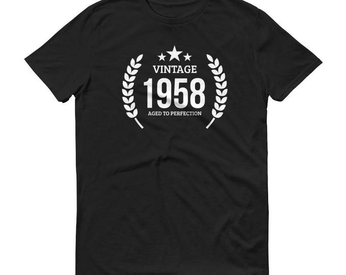 1958 Birthday Gift, Vintage Born in 1958 t-shirt for men, 61st Birthday shirt for him, Made in 1958 T-shirt, 61 Years Old Birthday Shirt