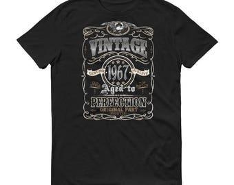 1967 Birthday Gift, Vintage Born in 1967 t-shirt for men, 52nd Birthday shirt for him, Made in 1967 T-shirt, 52 Year Old Birthday Shirt