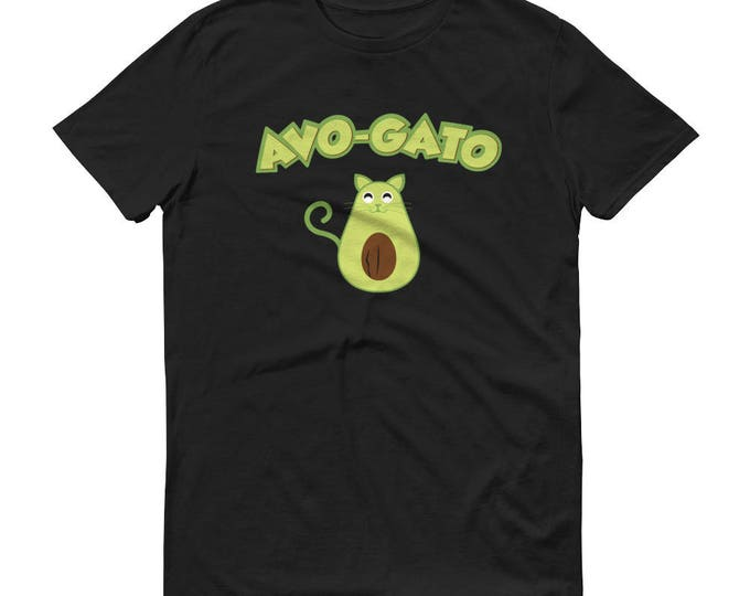 Funny Avocado Shirt - Cinco de Mayo Shirt, Avo Gato, Cat lover shirt, Avocado Lover shirt, Funny Food gift,  Avo-gato t-shirt