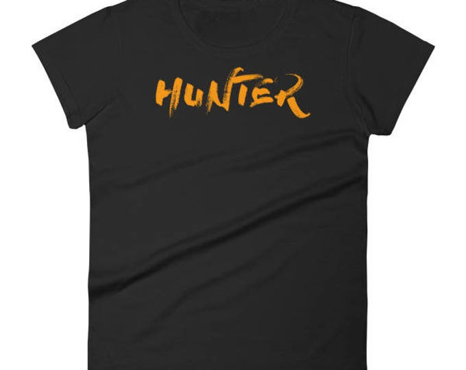 Hunter Halloween Gift Shirt For Women