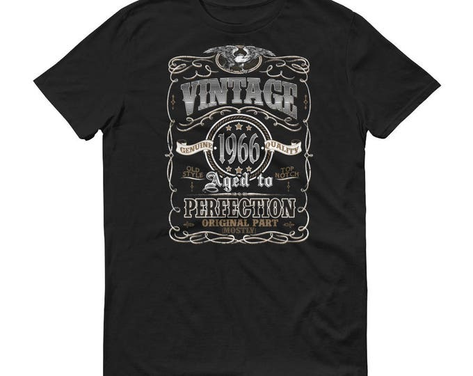 1966 Birthday Gift, Vintage Born in 1966 t-shirt for men, 53rd Birthday shirt for him, Made in 1966 T-shirt, 53 Year Old Birthday Shirt