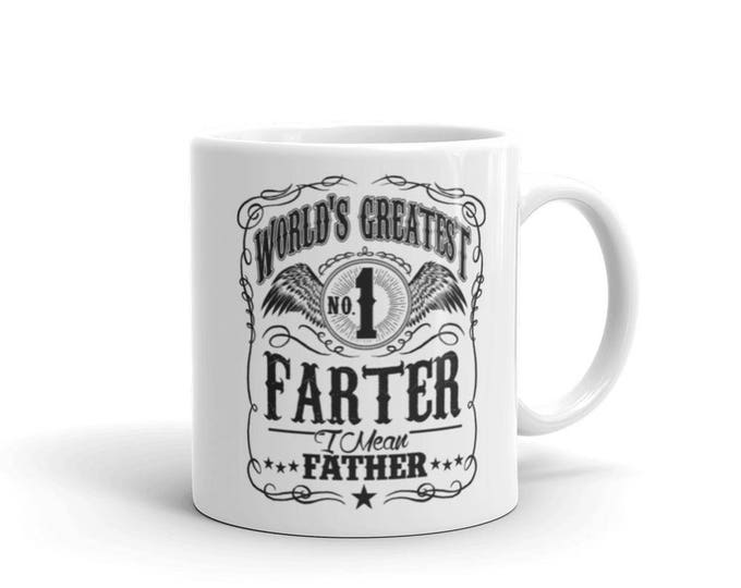 World's Greatest Farter, I mean father dad gift Coffee Mug