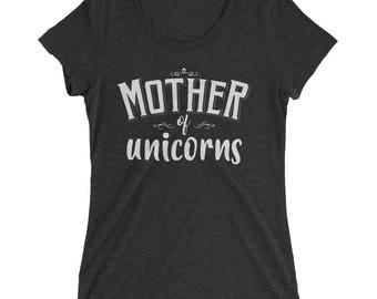 Mother of Unicorns t-shirt | BelDisegno