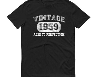 1959 Birthday Gift, Vintage Born in 1959 t-shirt for men, 60th Birthday shirt for him, Made in 1959 T-shirt, 60 Year Old Birthday Shirt