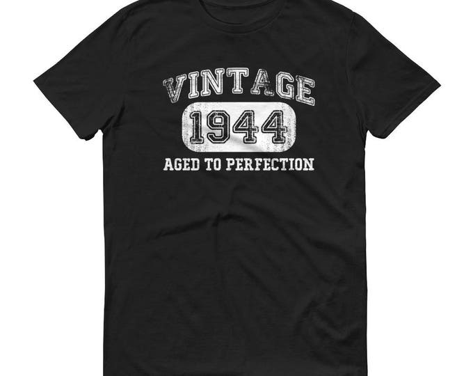 1944 Birthday Gift, Vintage Born in 1944 t-shirt for men, 75th Birthday shirt for him, Made in 1944 T-shirt, 75 Year Old Birthday Shirt