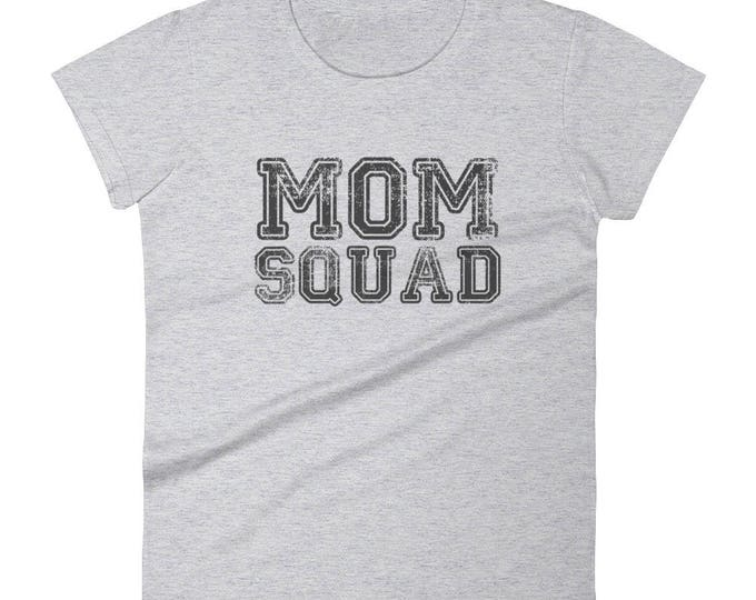 Women's Mom Squad t-shirt | BelDisegno