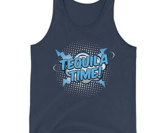 Tequila Time Tank Top, tequila shirt, tacos and tequila, drinking shirt, funny drinking shirt, funny tequila shirt, taco shirt, taco tuesday